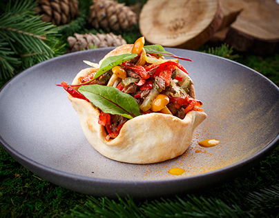 Food Photo. Siberian cuisine. 1st place in tripadvisor