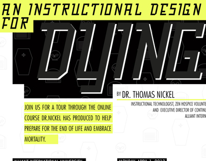 Instructional Design for Dying