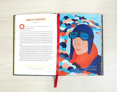 Amelia Earhart for Good Night Stories for Rebel Girls