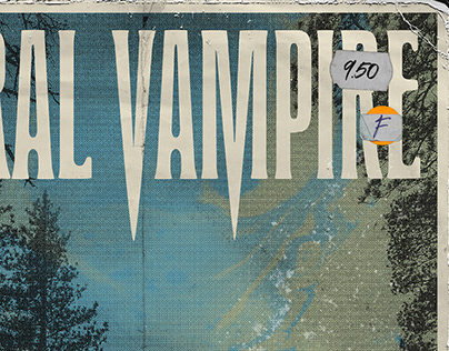 Herold Condensed Typeface   Literal Vampire Branding
