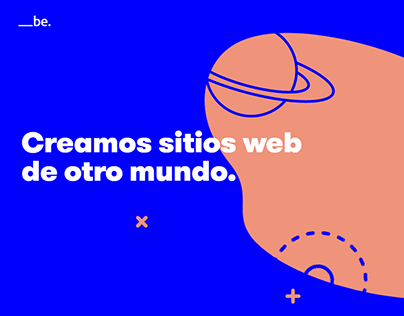 EXPLORATION — Bold Flat Space Landing Page