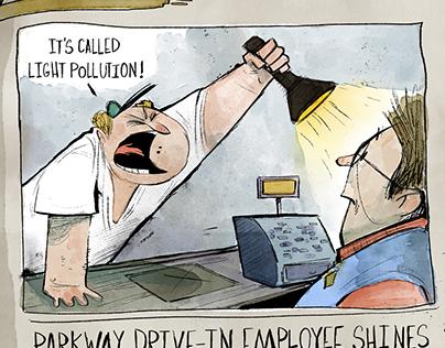 Knoxville Mercury Editorial Cartoons