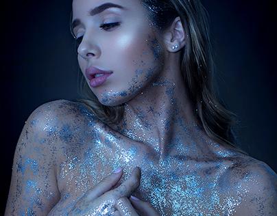 Blue space dust