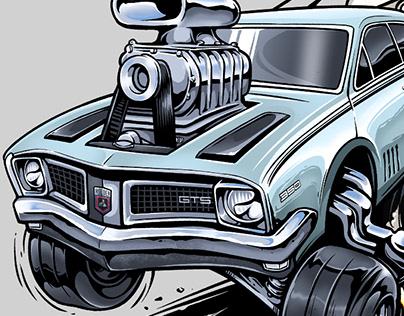Monaro GTO Illustration