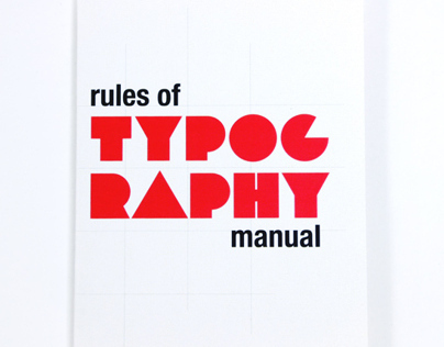 Rules of Typography