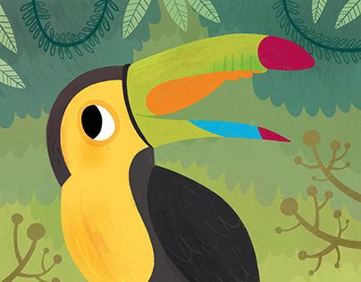 Procreate:Toucan