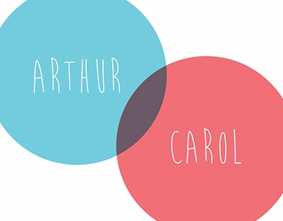 Save The Date - Arthur + Carol