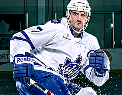 2013-14 Toronto Marlies Media Day Photoshoot