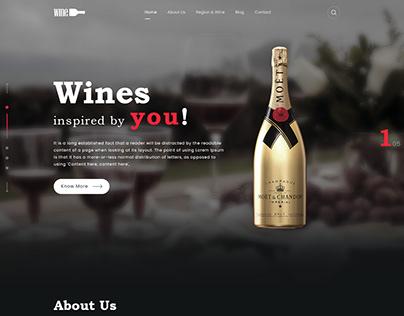 Wine Layout