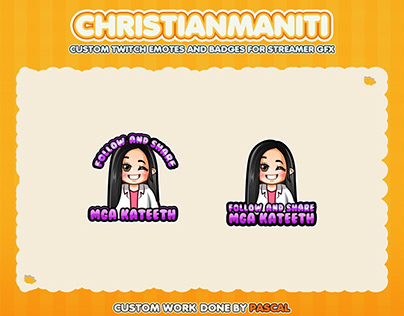 Custom emotes for twitch, youtube, discord and facebook