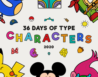 36 Days of Type - Characters