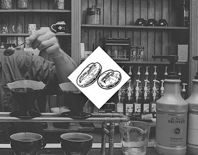 The Fields Coffeehouse & Roastery Branding