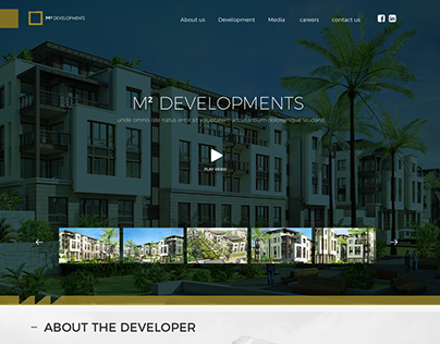 M2 Development proposed home page concepts
