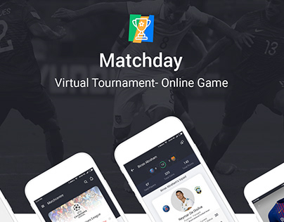 Matchday Mobile app UI