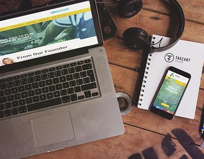 Sport Access Foundation Website Design & Development