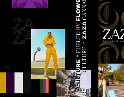 ZaZa Cannabis Branding
