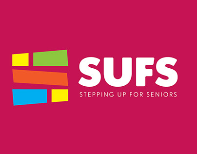 Stepping Up For Seniors | Logo, Identity Program