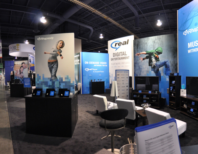 CES - Real Booth