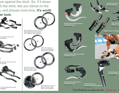 Tri-Zone Product Catalog for the USAT Magazine