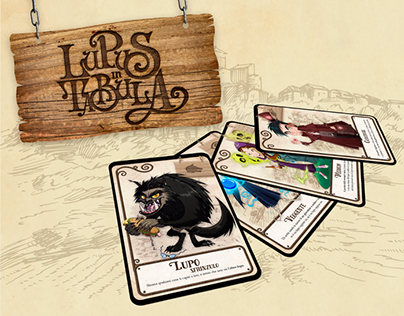 Lupus in Tabula Board Game - Cards Redesign
