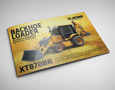 XCMG - Backhoe Loader XT870BR Catalog EN/PT/ES