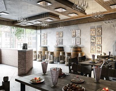 Cafe Interior Design Proposals