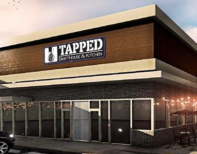 Tapped Drafthouse & Kitchen Branding