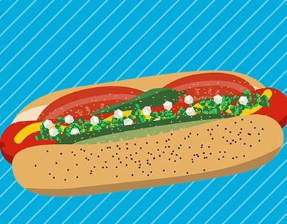 Anatomy of the Chicago-Style Hotdog