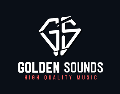Logo Design For Golden Sounds
