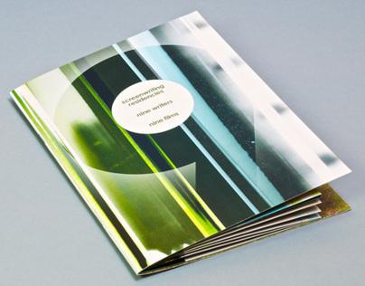 Playwrights' Studio Scotland Screenwriting Brochure