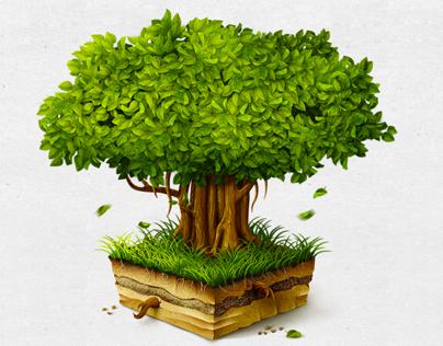 Banyan Tree Mac OS icon