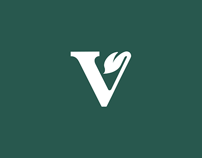 Logo design for an vegan inspirational page.
