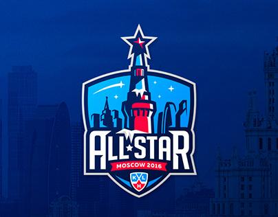 KHL All-Star Game 2016 Logo Design