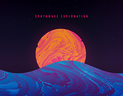 Psychedelic & Synthwave || Exploration