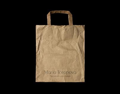 Logo Maria Toropova   Interior designer