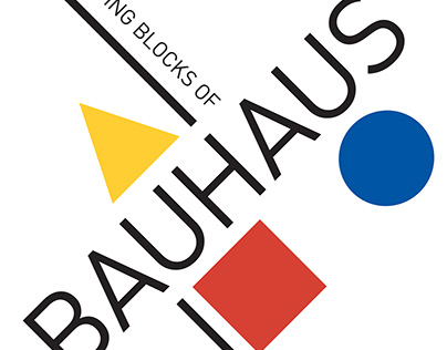 The Building Blocks of Bauhaus