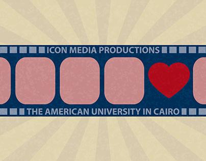 Invitation Design for Icon Media Productions & AUC