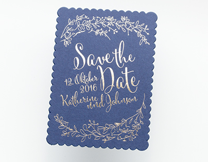 Letterpressed Weddings