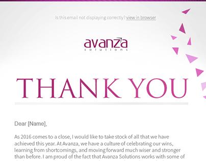 Thankyou Newsletter