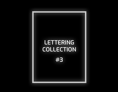 Lettering Collection #3 - The 1975 Edition
