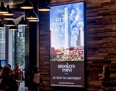 Brooklyn Point - City Point LED Banners