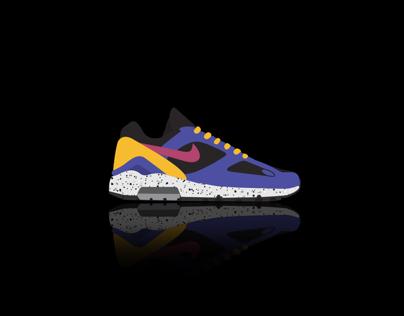 Sneaker Illustration for Sole Unit