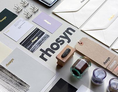 Rhosyn | Personal Identity Design