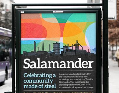 Salamander. Festival Identity.