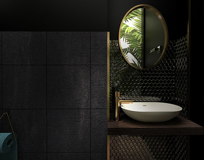 TROPICAL PARADISE BATHROOM & WC . CRACOW . POLAND