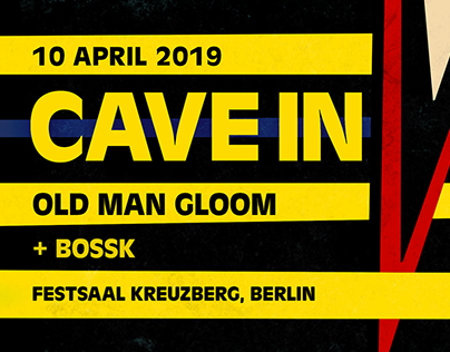 Cave In + Old Man Gloom - Live in Berlin 2019