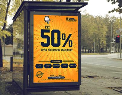 IT Brain Shapers - Advertising Billboard
