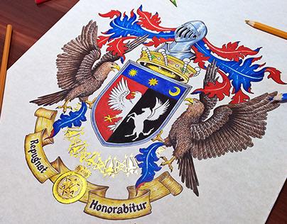 Coat of Arms design - De Guy