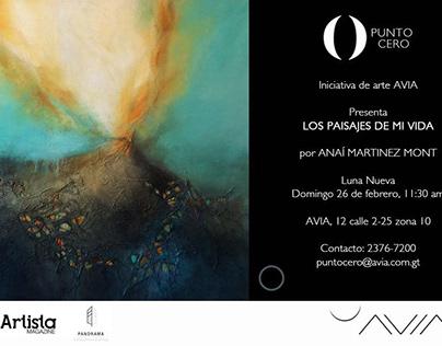 """Exhibition/Exposición """"Los paisajes de mi vida"""" 2017"""