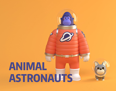 NUTS PACKAGING | ANIMAL ASTRONAUTS / GANHUO PLANET